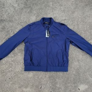 Members Only Mens Iconic Racer Jacket Zip Up Sz XL